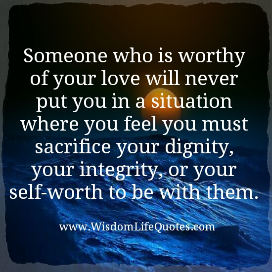 Know someone worthy of your love