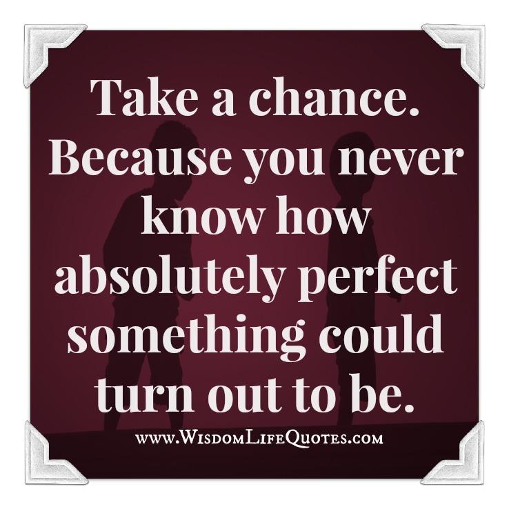 Chance Take It